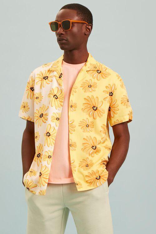 Classic Fit Floral Print Shirt, image 7