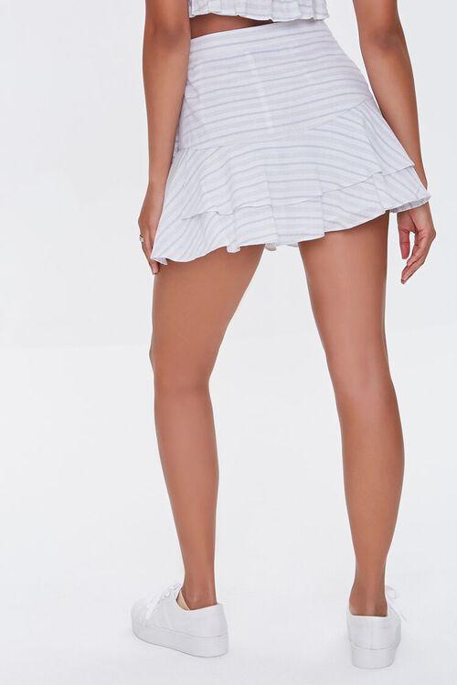 Striped Flounce Mini Skirt, image 4