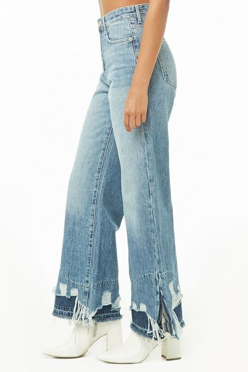 Distressed Wide-Leg Jeans, image 2