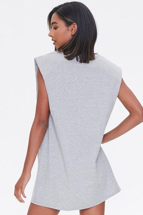 Shoulder-Pad T-Shirt Dress, image 3
