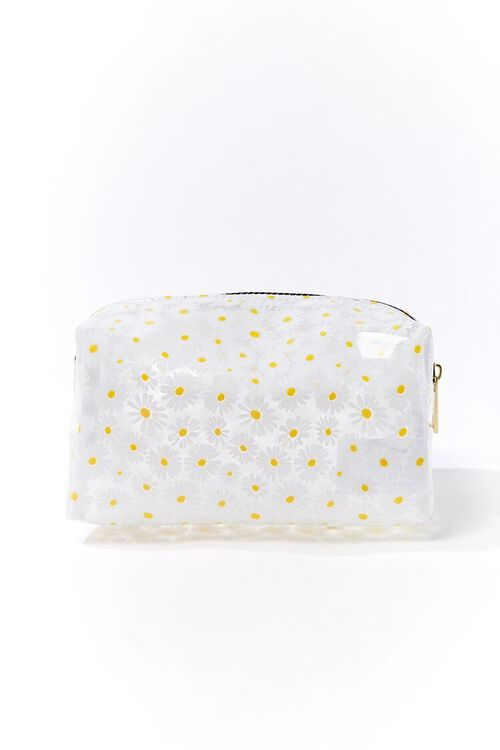 Daisy Print Square Pouch, image 1
