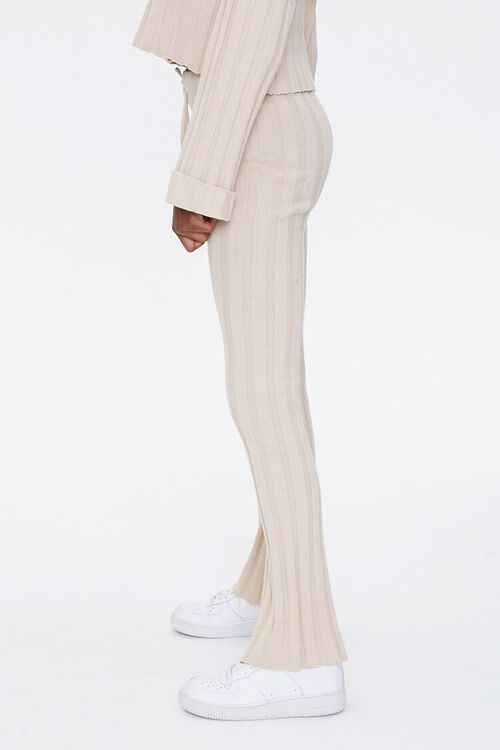 Ribbed Flare Pants, image 3
