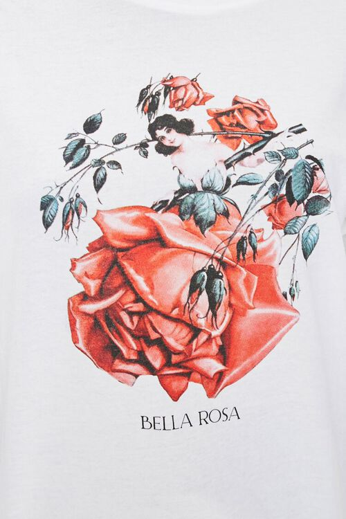 Bella Rosa Graphic Tee, image 5
