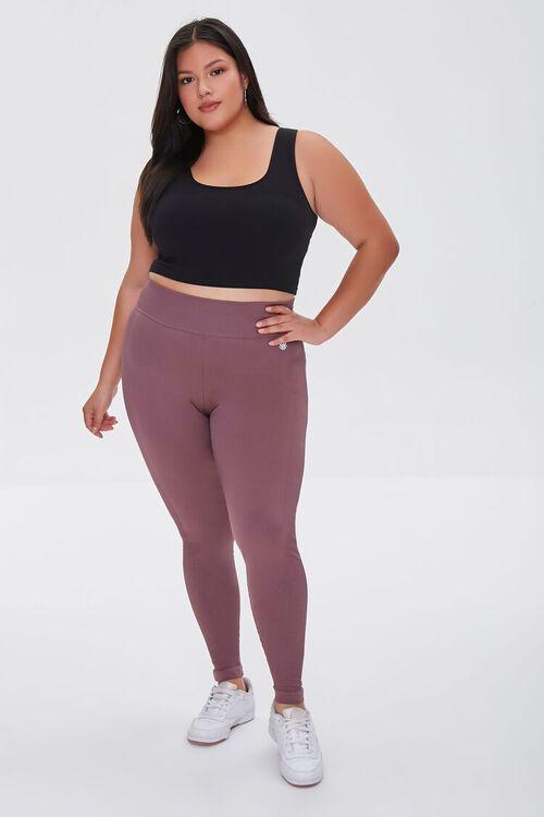 Plus Size Active High-Rise Leggings, image 1