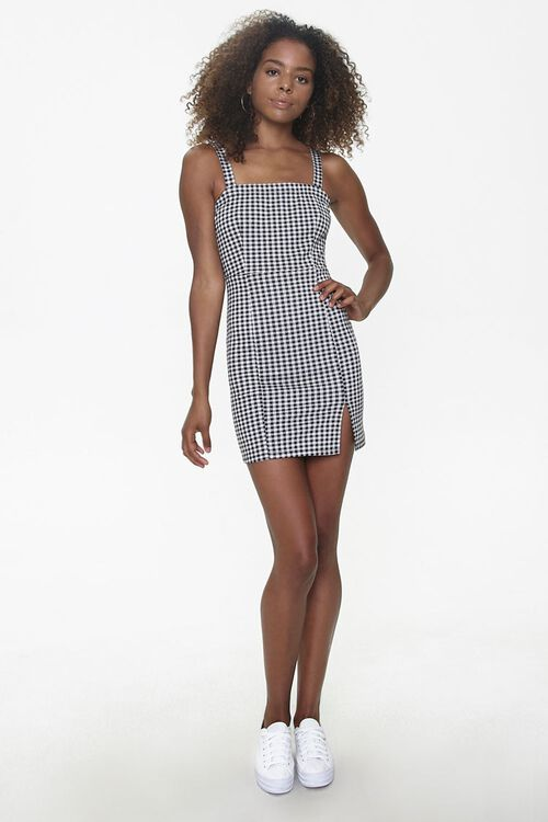 Gingham Bodycon Dress, image 4