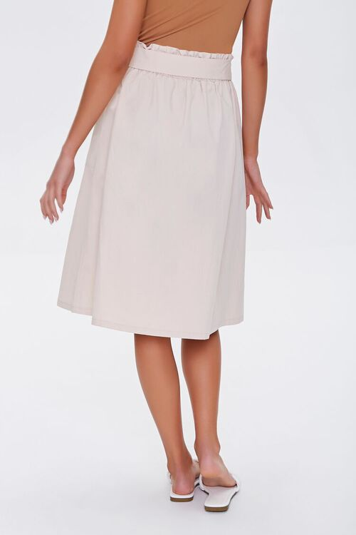 Flowy Button-Down Skirt, image 4