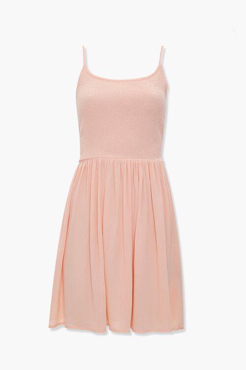 Smocked Skater Dress, image 1