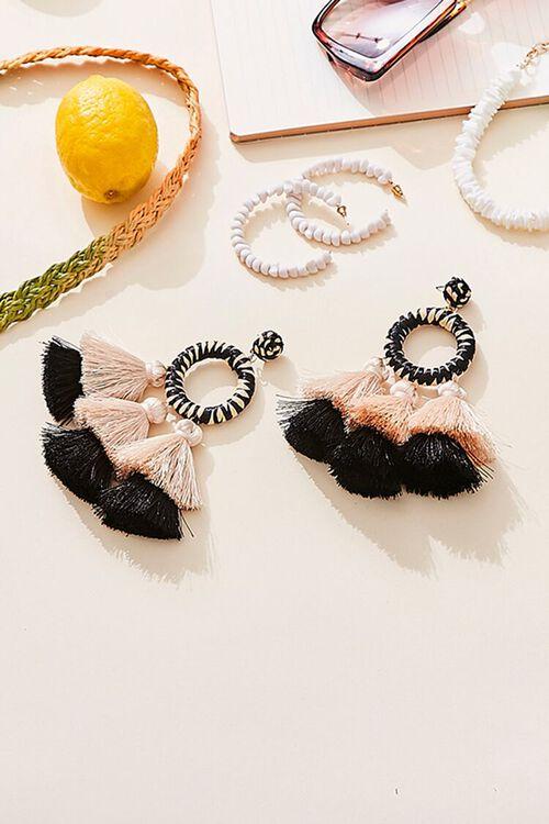 Tassel Ring Earrings, image 1