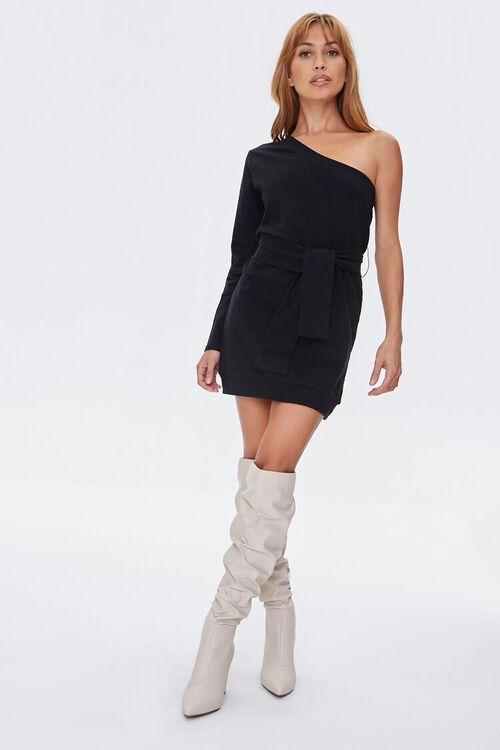 One-Shoulder Mini Dress, image 4