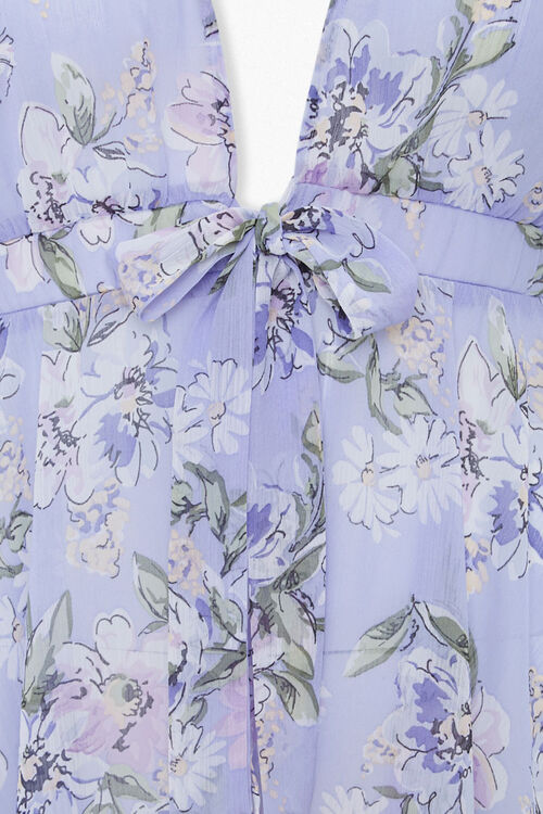 Plus Size High-Low Floral Tunic, image 3