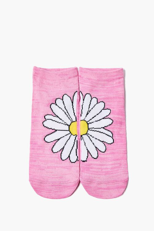 Daisy Graphic Ankle Socks, image 1