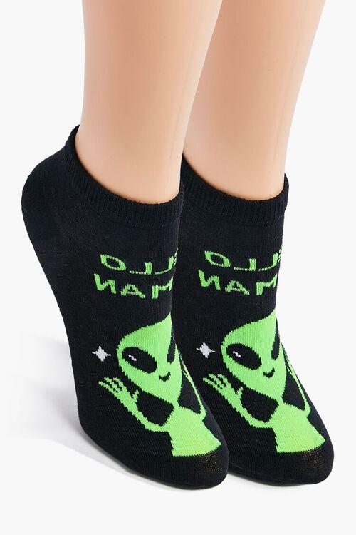 Alien Ankle Socks, image 1
