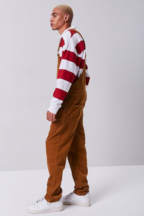 Corduroy Buttoned Overalls, image 2