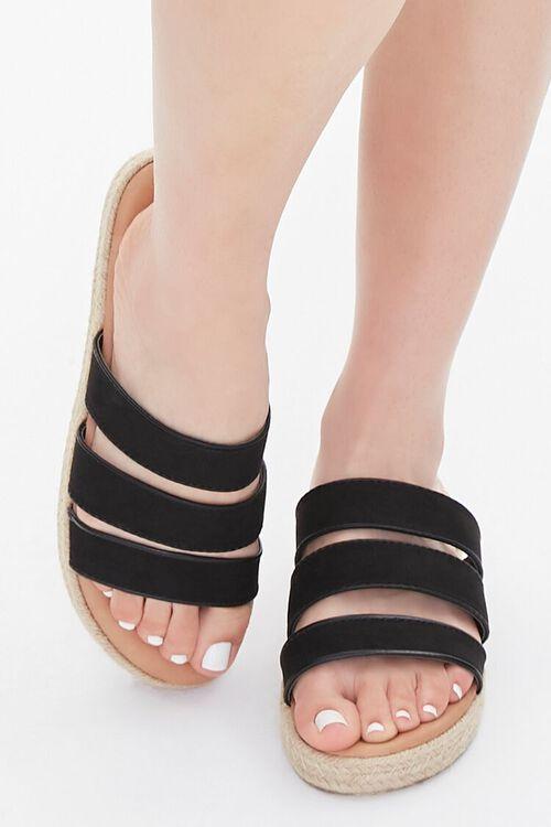 Triple-Strap Espadrille Sandals, image 4
