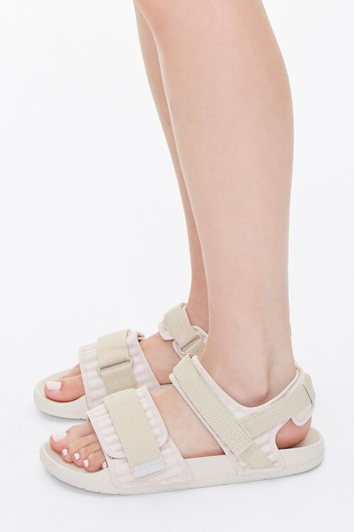 Recycled Adjustable Caged Sandals, image 2