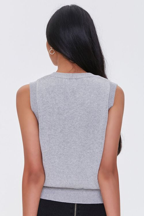 Heathered Sweater Vest, image 3