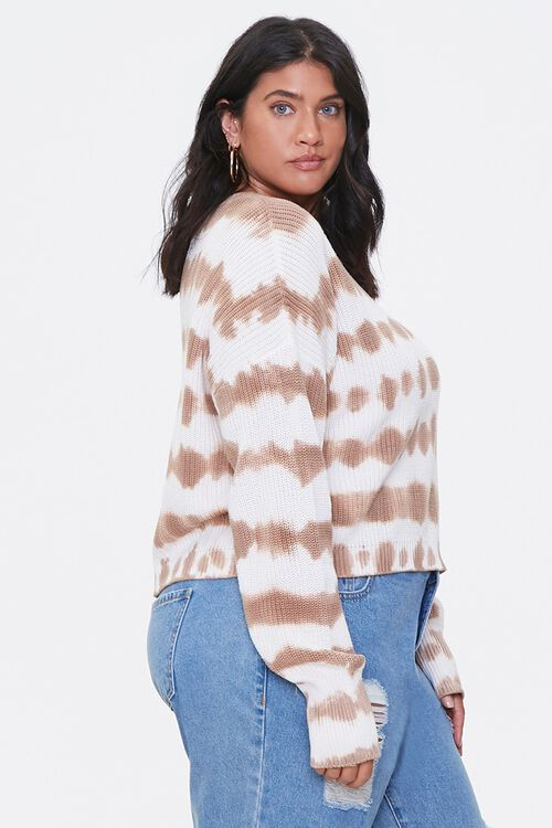 Plus Size Tie-Dye Sweater, image 2