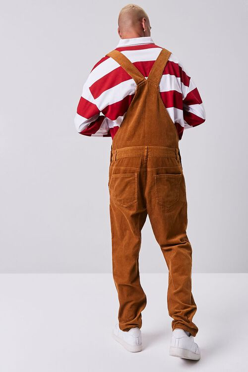 Corduroy Buttoned Overalls, image 3