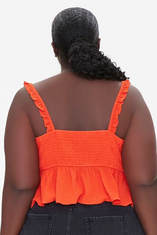 Plus Size Knotted Flounce Top, image 3