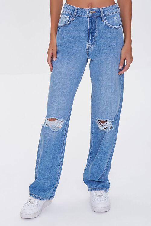 Premium High-Waist 90s Fit Jeans, image 2