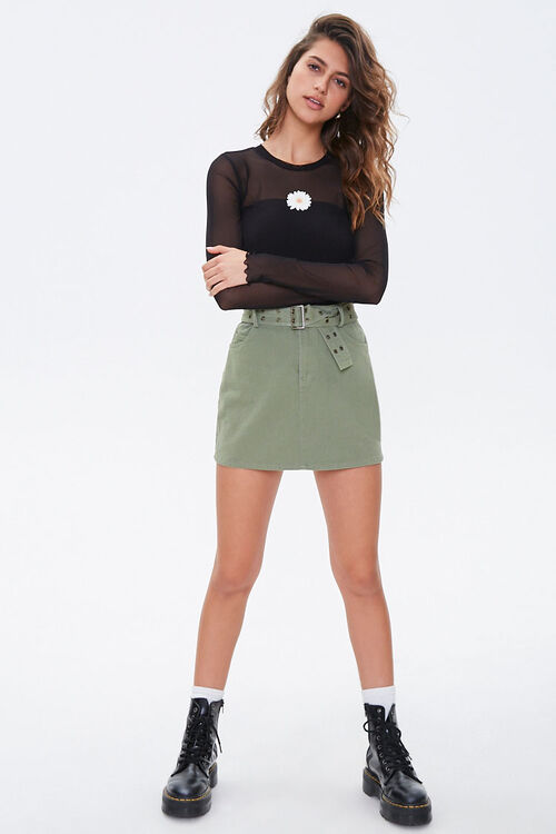 Daisy Sheer Mesh Top, image 4