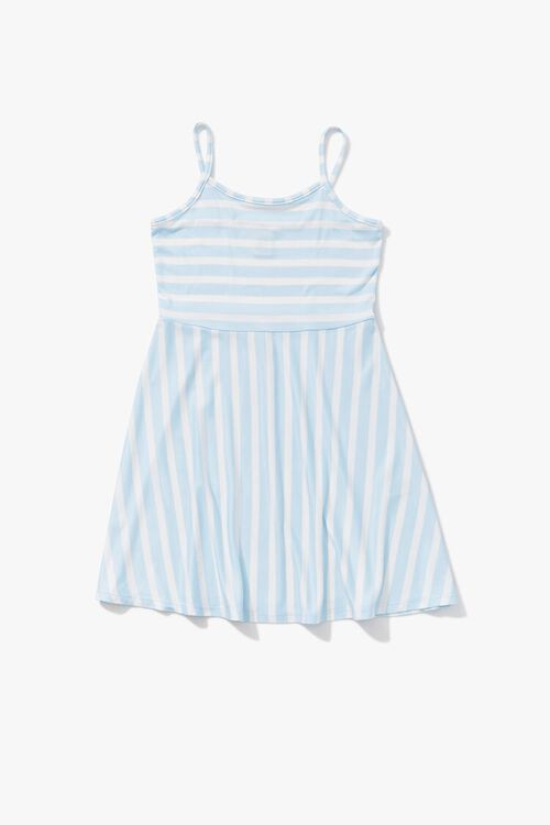 Girls Striped Cami Dress (Kids), image 3