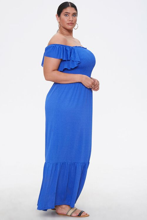 Plus Size Off-the-Shoulder Dress, image 2