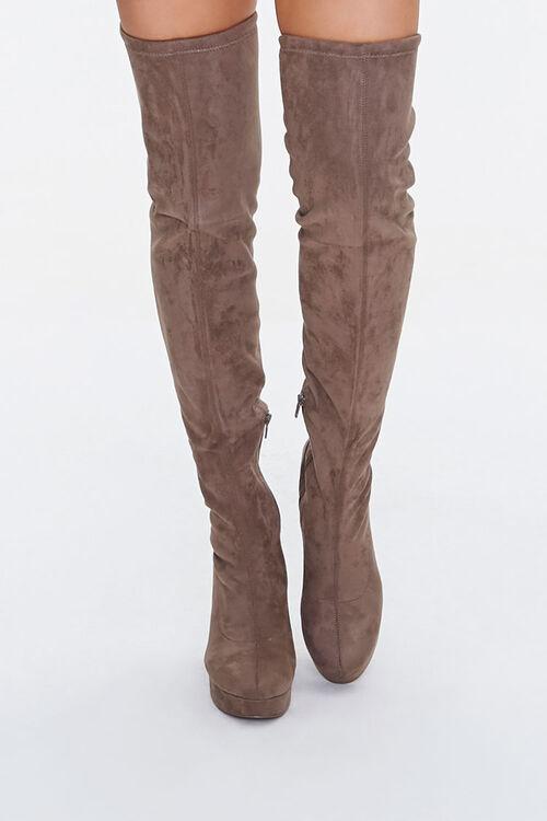 Thigh-High Platform Boots, image 4