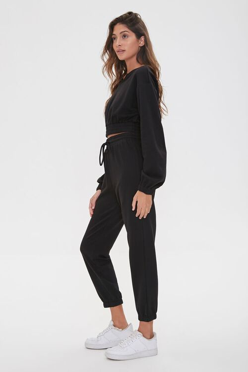 French Terry Pullover & Joggers Set, image 2
