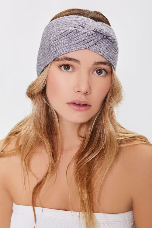 Ribbed Twisted Headwrap, image 1
