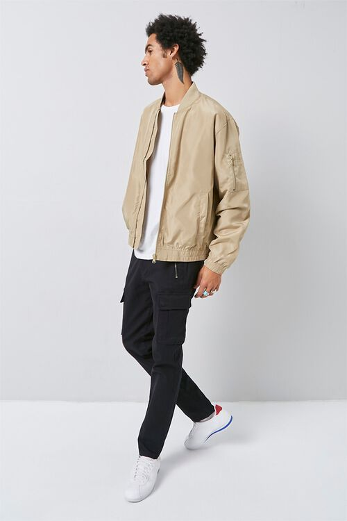 Zippered Bomber Jacket, image 4