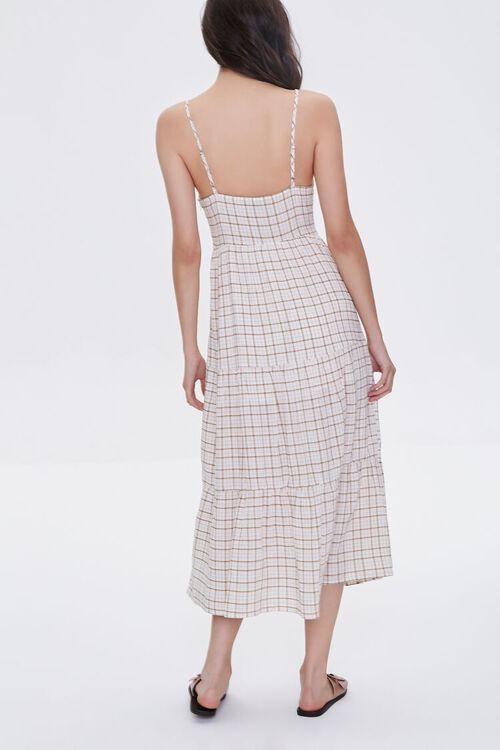 Plaid Cami Midi Dress, image 4