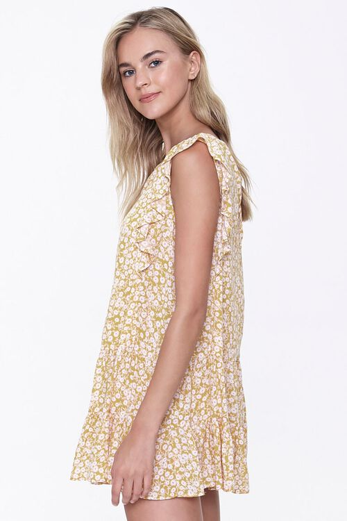 Floral Print Mini Dress, image 2
