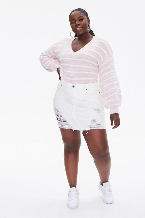 Plus Size Striped Sweater, image 4