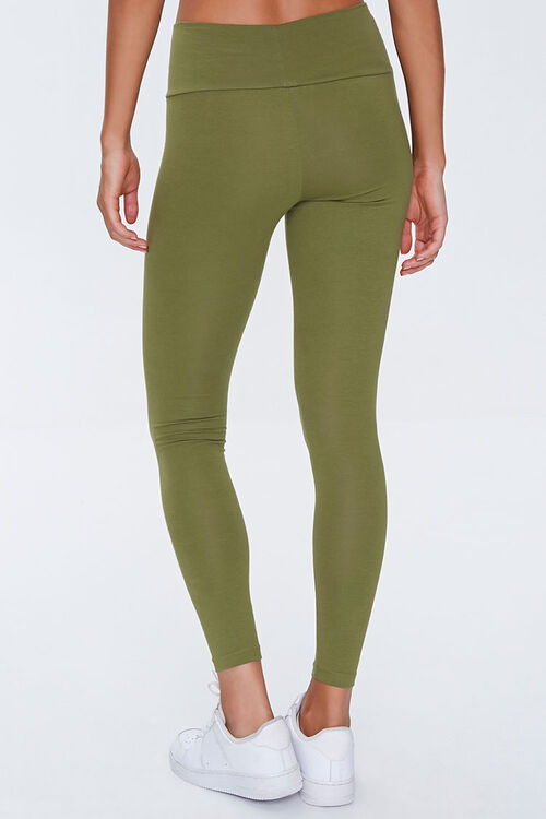 Basic Cotton-Blend Leggings, image 4