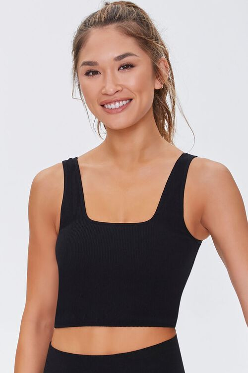 Active Seamless Square Tank Top, image 2