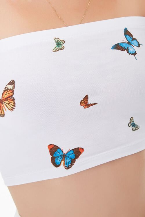 Butterfly Print Tube Top, image 5