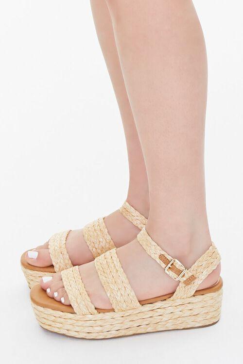 Basketwoven Espadrille Sandals, image 2