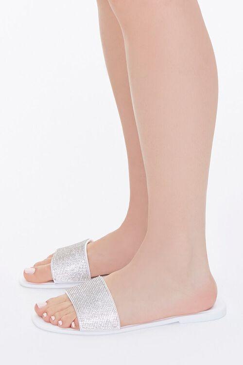 Rhinestone Slip-On Sandals, image 2