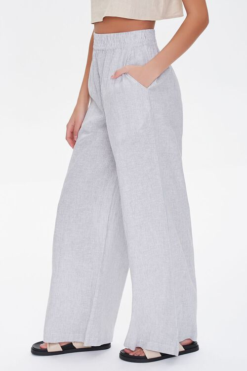 Wide-Leg Linen Pants, image 3