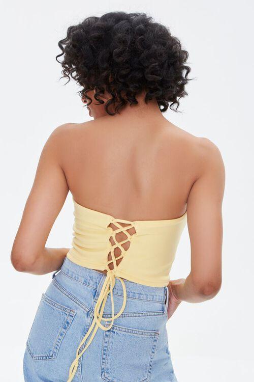 Lace-Back Tube Top, image 3