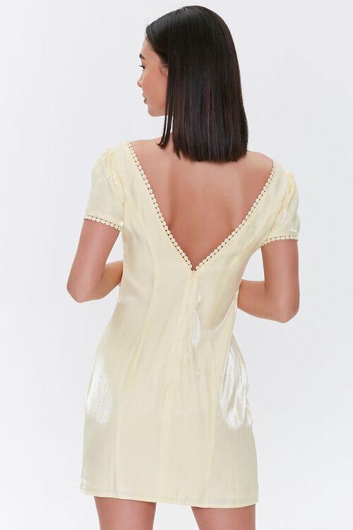 Crochet-Trim Mini Dress, image 3