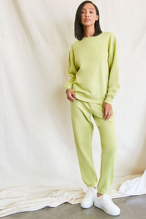 SAGE French Terry Crew Pullover, image 4