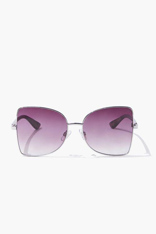 Square Leopard Print Sunglasses, image 1
