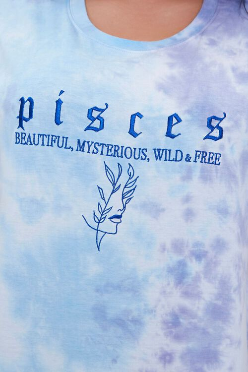 Plus Size Pisces Embroidered Graphic Tee, image 5