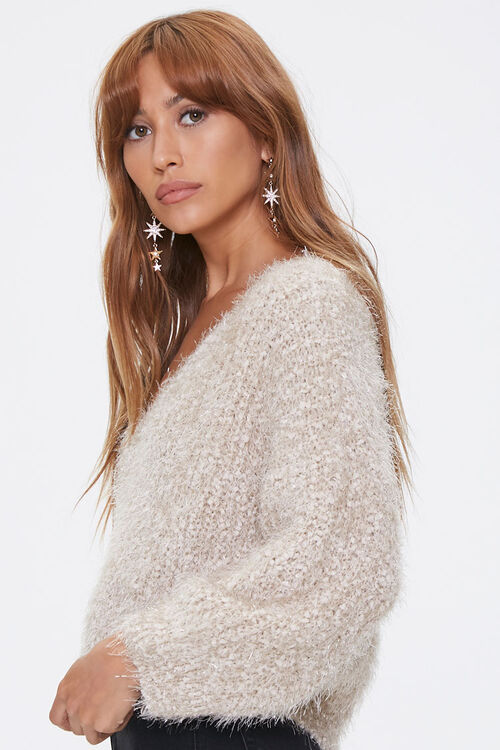 Fuzzy Chenille Sweater, image 2