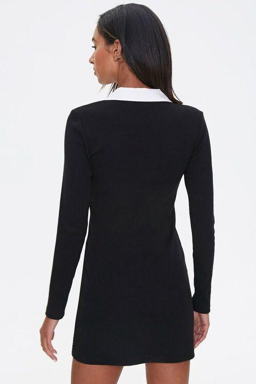 Ruffle-Trim Bodycon Dress, image 3