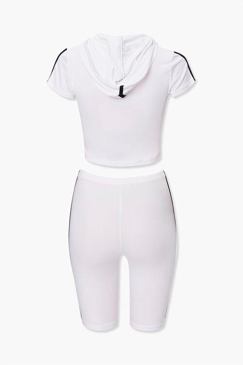 Side-Striped Hoodie & Shorts Set, image 3