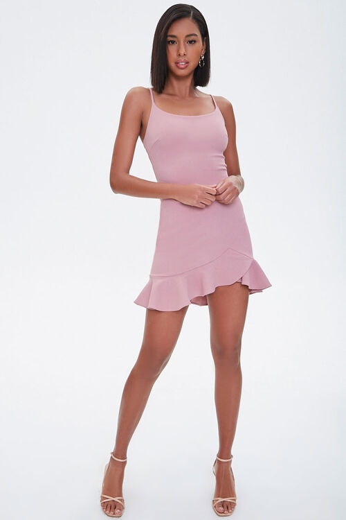 Ruffled Cami Mini Dress, image 4