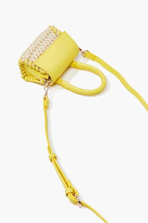 Basketwoven Mini Crossbody Bag, image 4